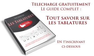 Guide comment lire une tablature guitare