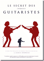 Le secret des vrais guitaristes-couverture