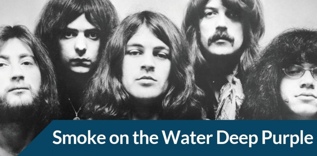 Jouer smoke on the water de Deep Purple