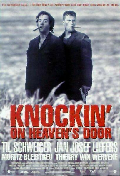 affiche du film Knocking on heavens door
