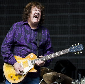 Gary Moore légende du blues guitare