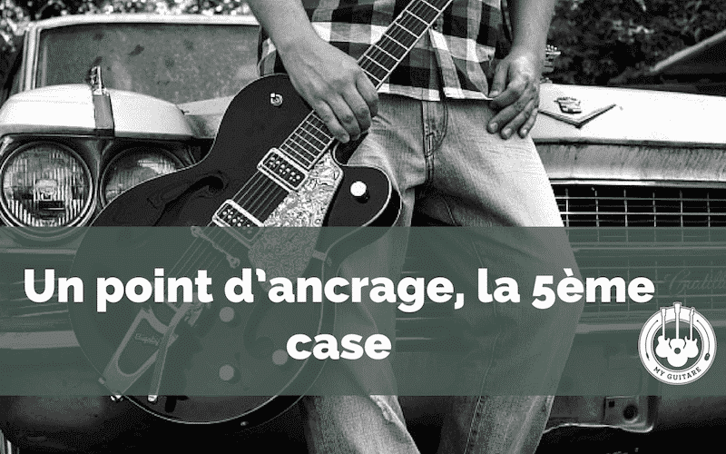 Point d'ancrage notes guitare