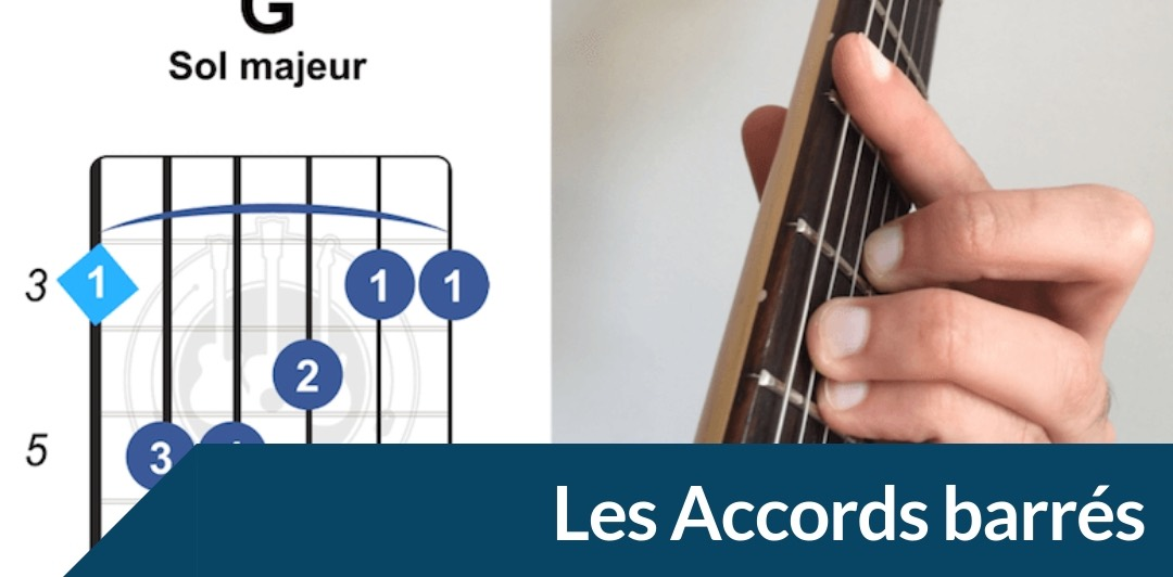 jouer les accords barrés à la guitare