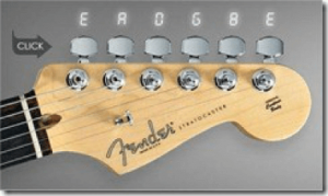 Accordeur en ligne de Fender