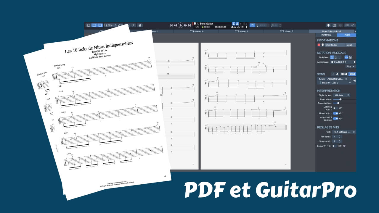 ablatures blues gratuites pdf methode de blues