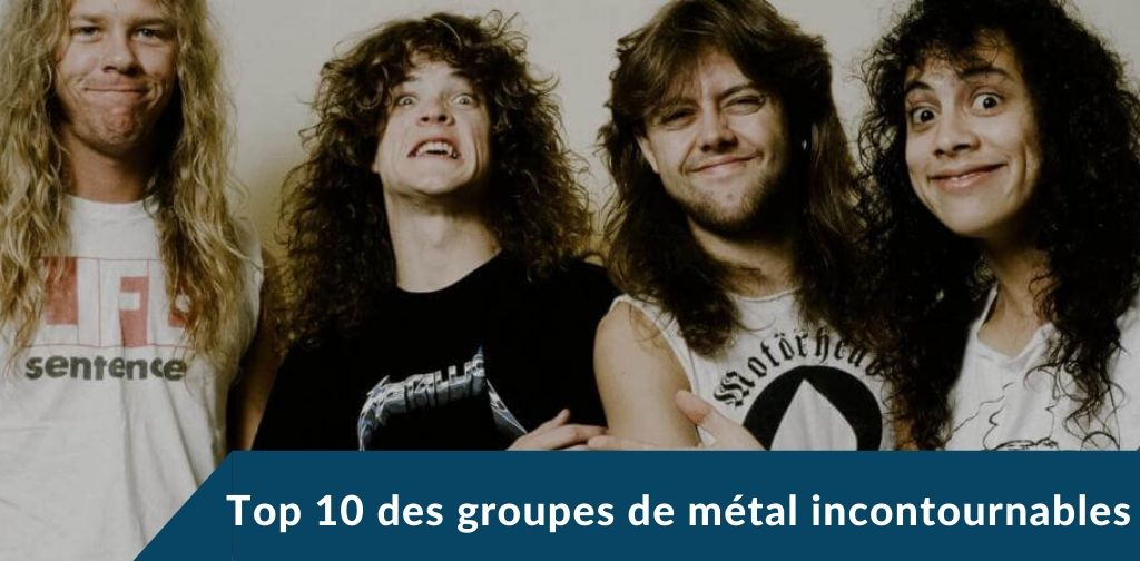 metal groupes incontournables