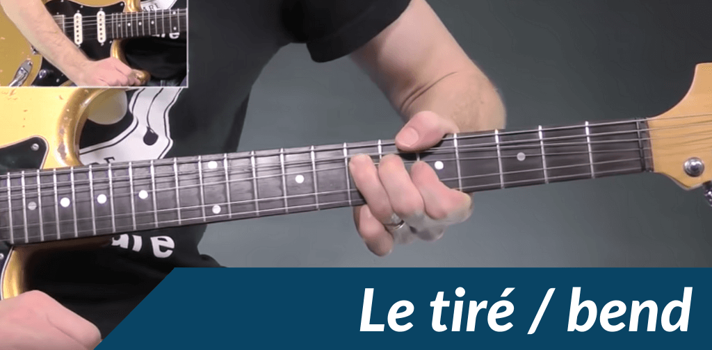 Comment faire un tiré à la guitare